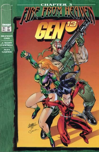 Gen 13 (1995) no. 10 - Used