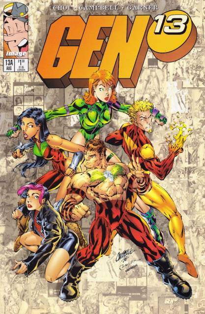 Gen 13 (1995) (A variant) no. 13 - Used