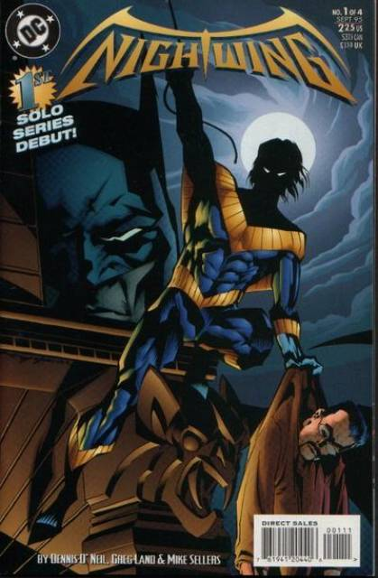 Nightwing (1995) Mini Series Complete Bundle - Used