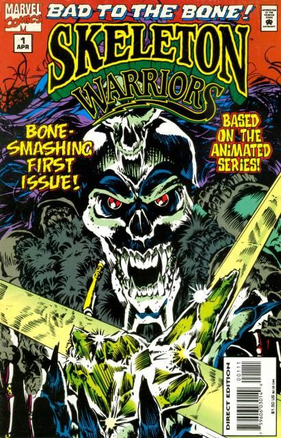 Skeleton Warriors (1995) Complete Bundle - Used
