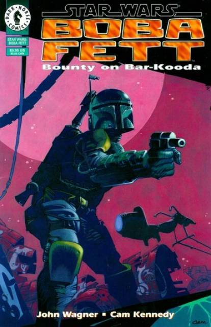 Star Wars Boba Fett (1995) Bounty on Bar-Kooda - Used