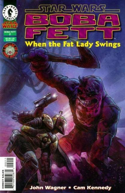 Star Wars Boba Fett (1995) When the Fat Lady Swings - Used
