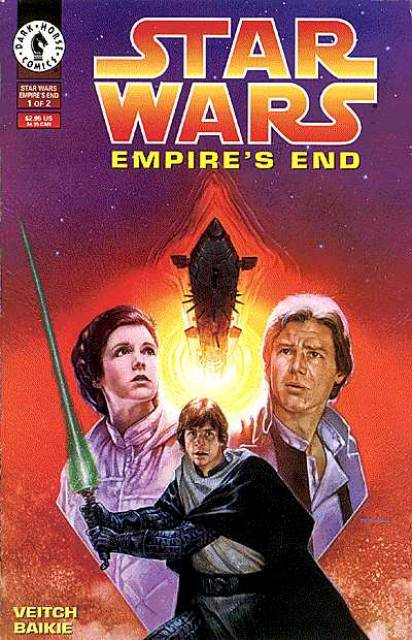 Star Wars: Empire's End (1995) Complete Bundle - Used