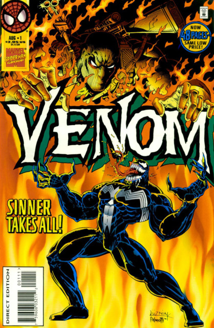 Venom: Sinner Takes All (1995) Complete Bundle - Used