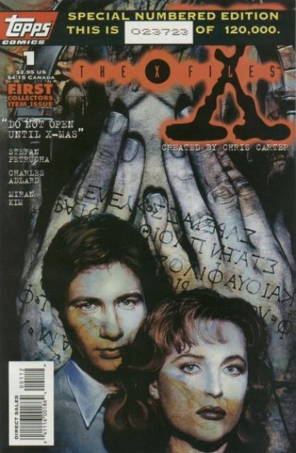 X-Files (1995) no. 1 - Used