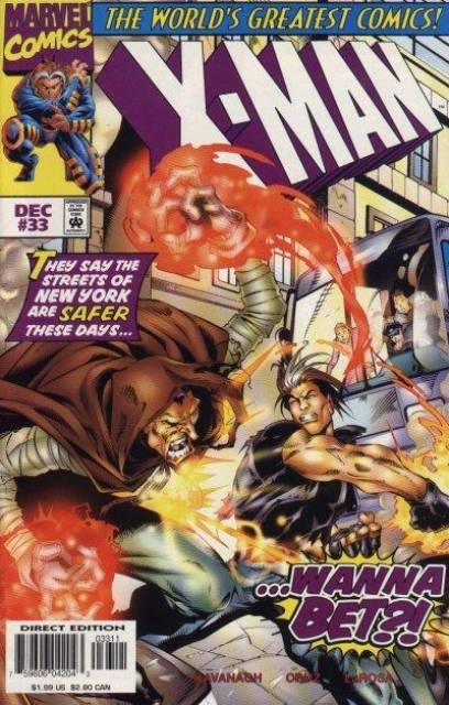X-Man (1995) no. 33 - Used