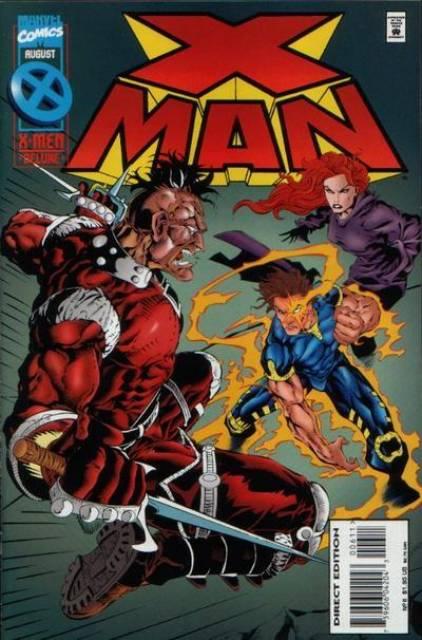 X-Man (1995) no. 6 - Used