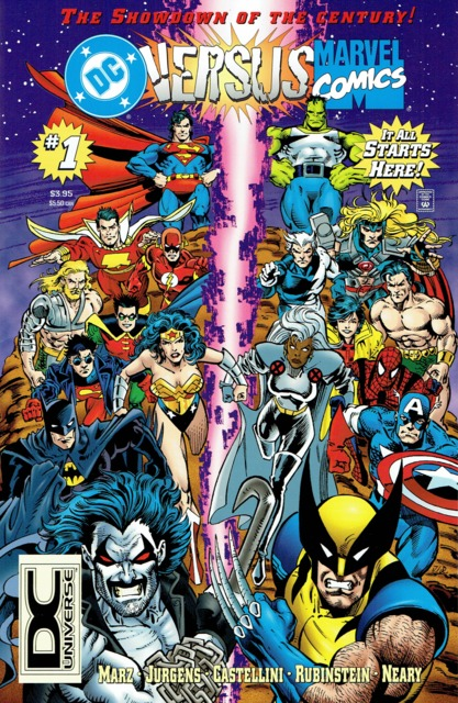 DC Versus the Marvel Universe (1996) Complete Bundle - Used