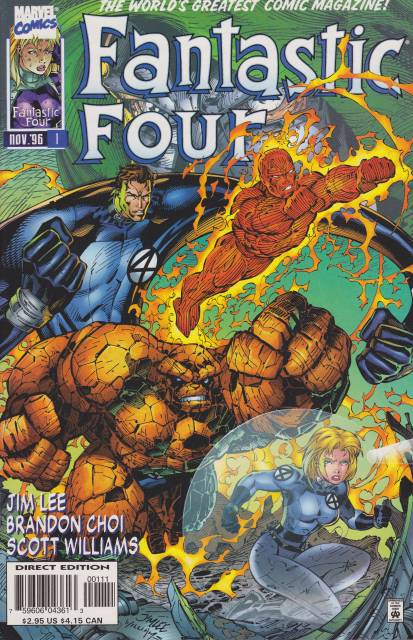 Fantastic Four (1961) Volume 2 (1996) no. 1 - Used