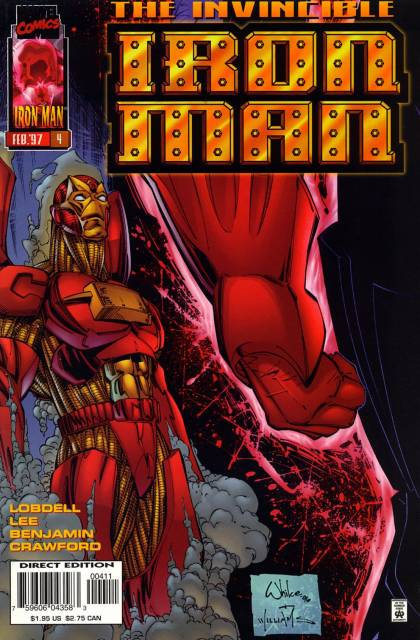 Invincible Iron Man (1996) no. 4 - Used