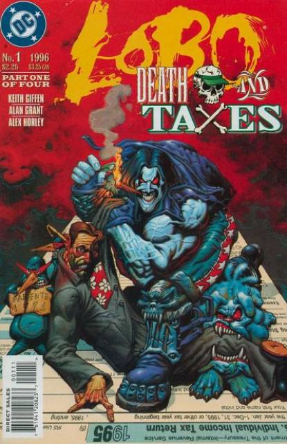 Lobo: Death and Taxes (1996) Complete Bundle - Used