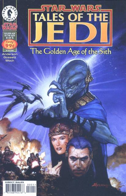 Star Wars: Tales of the Jedi: Golden Age of the Sith (1996) no. 0 - Used