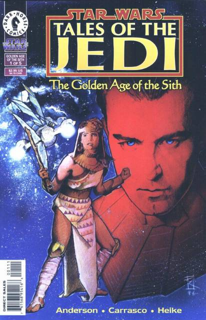 Star Wars: Tales of the Jedi: Golden Age of the Sith (1996) Complete Bundle - Used