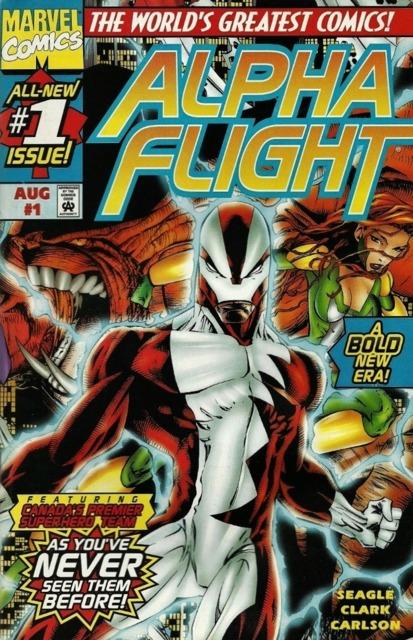 Alpha Flight (1997) no. 1 - Used