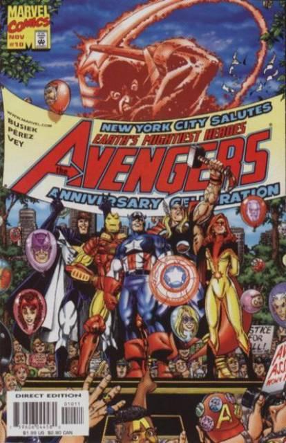 Avengers (1997) no. 10 - Used
