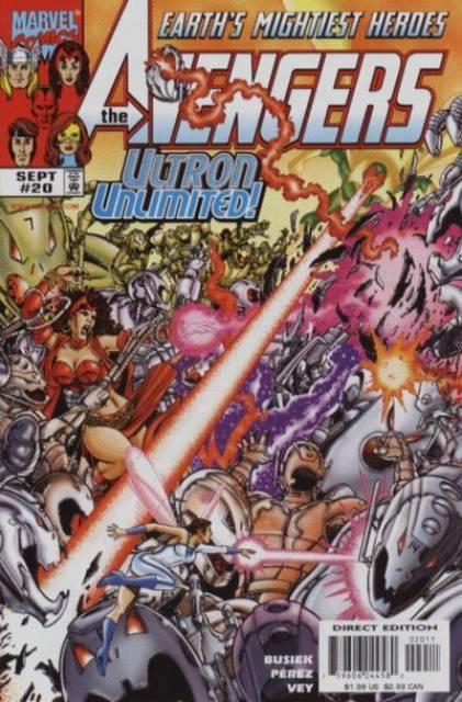 Avengers (1997) no. 20 - Used