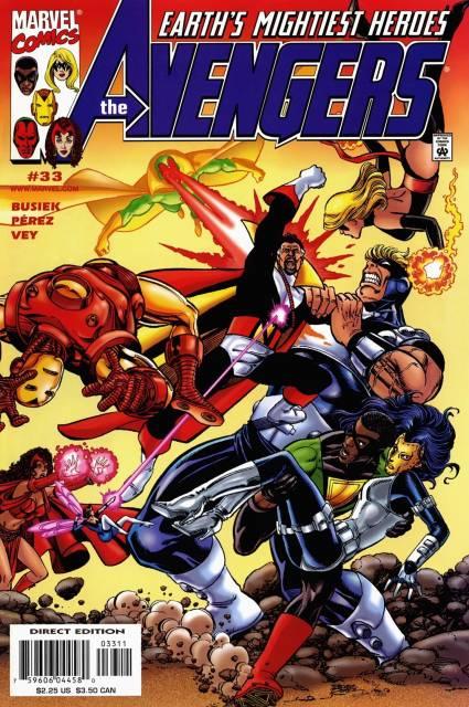 Avengers (1997) no. 33 - Used