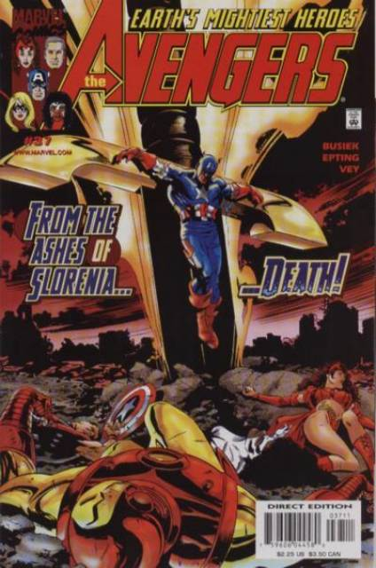 Avengers (1997) no. 37 - Used