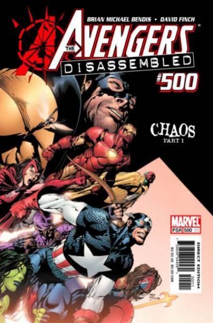 Avengers (1997) no. 500 - Used