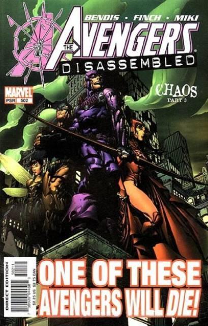 Avengers (1997) no. 502 - Used