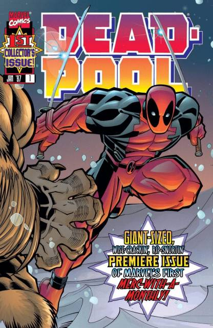 Deadpool (1997) no. 1 - Used