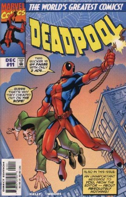 Deadpool (1997) no. 11 - Used