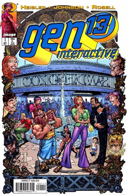 Gen 13 Interactive (1997) Complete Bundle - Used