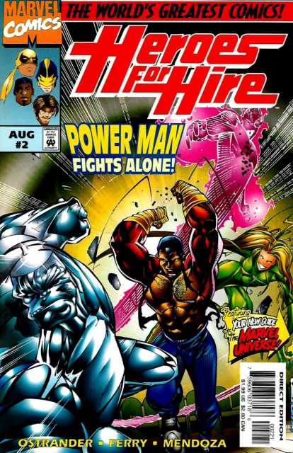 Heroes For Hire (1997) no. 2 - Used