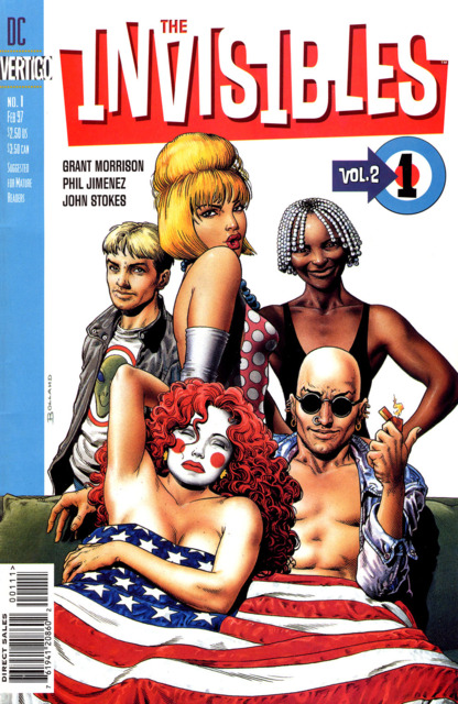 Invisibles (1997) no. 1 - Used