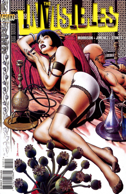 Invisibles (1997) no. 10 - Used