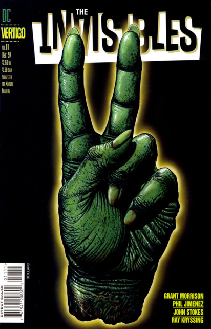 Invisibles (1997) no. 11 - Used