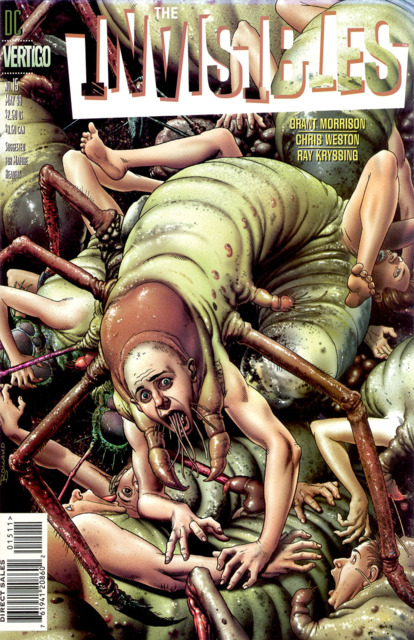 Invisibles (1997) no. 15 - Used