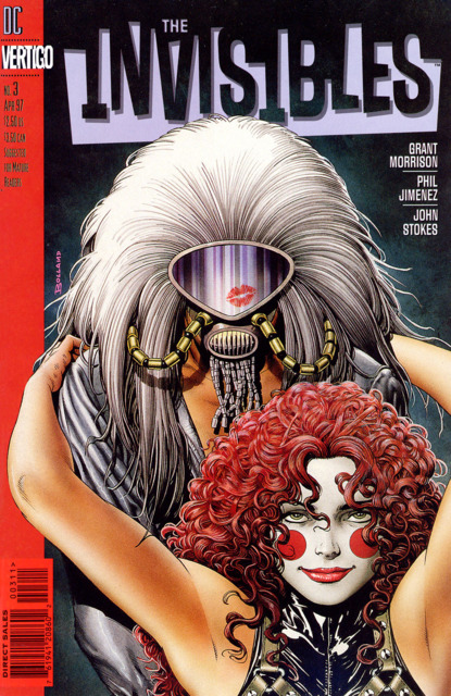 Invisibles (1997) no. 3 - Used