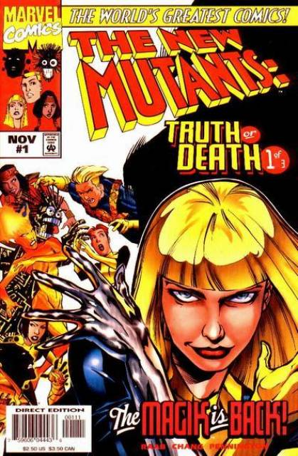 The New Mutants: Truth or Death (1997) Complete Bundle - Used