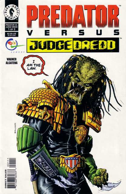 Predator Vs Judge Dredd (1997) Complete Bundle - Used