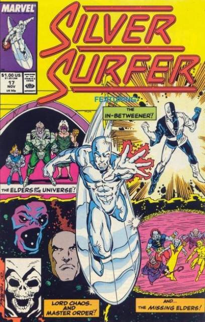 Silver Surfer (1987) no. 17 - Used