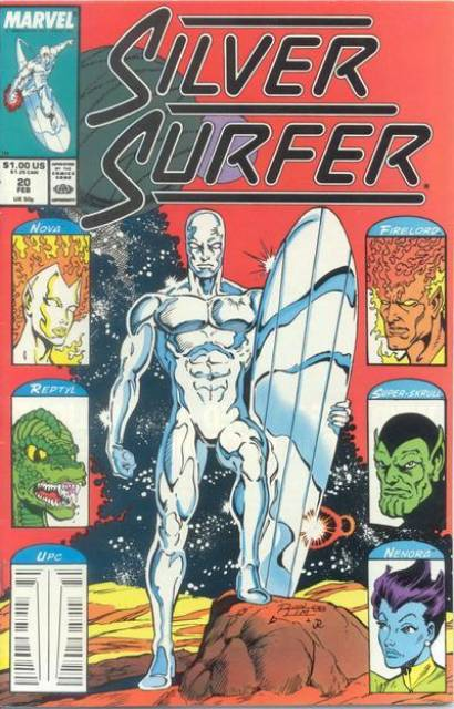 Silver Surfer (1987) no. 20 - Used