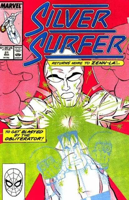 Silver Surfer (1987) no. 21 - Used