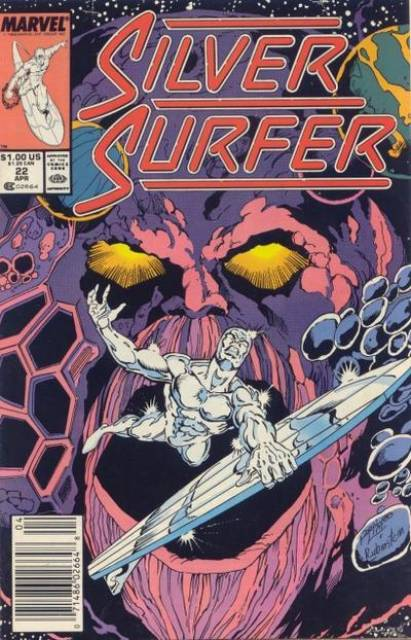 Silver Surfer (1987) no. 22 - Used