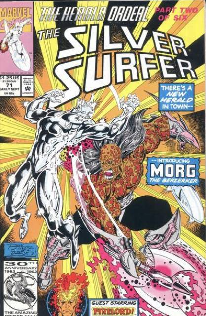 Silver Surfer (1987) no. 71 - Used