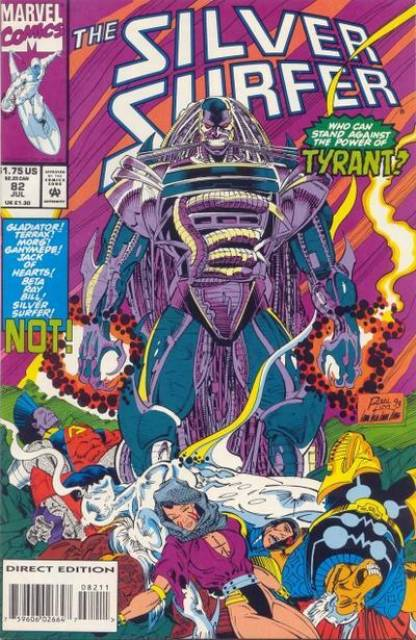 Silver Surfer (1987) no. 82 - Used