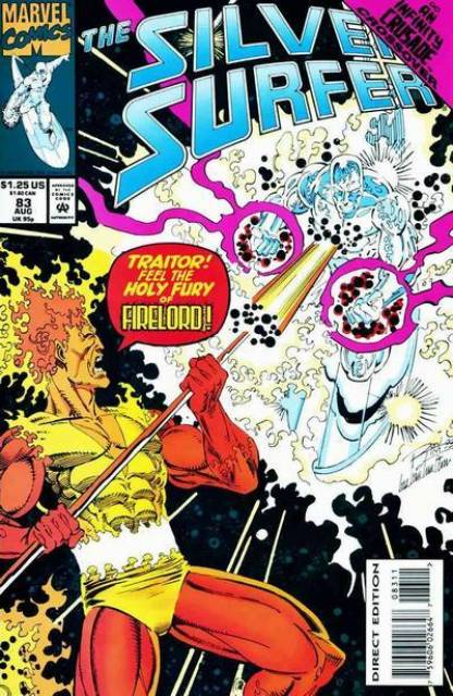 Silver Surfer (1987) no. 83 - Used
