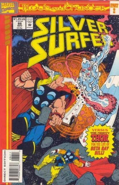 Silver Surfer (1987) no. 86 - Used
