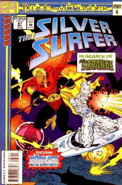 Silver Surfer (1987) no. 87 - Used