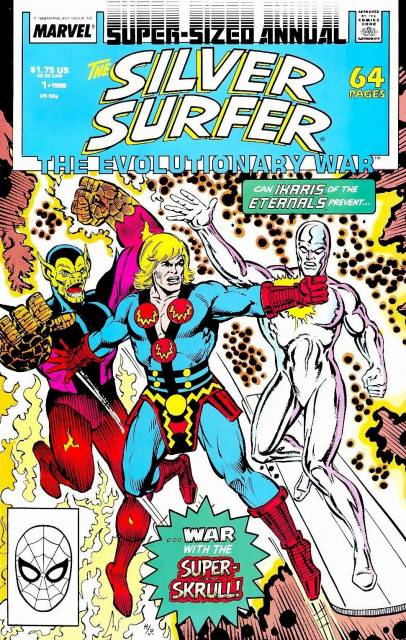 Silver Surfer (1987) Annual no. 1 - Used