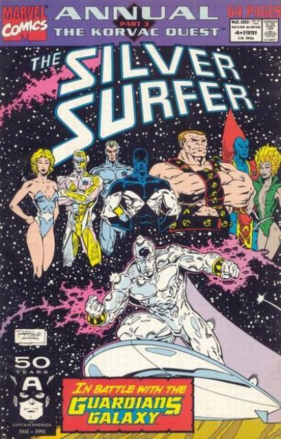 Silver Surfer (1987) Annual no. 4 - Used