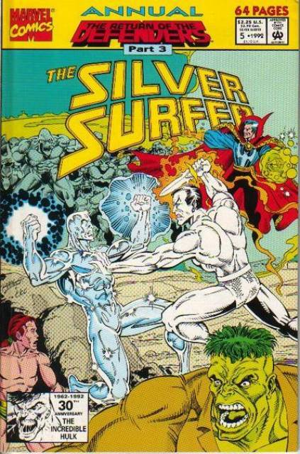 Silver Surfer (1987) Annual no. 5 - Used