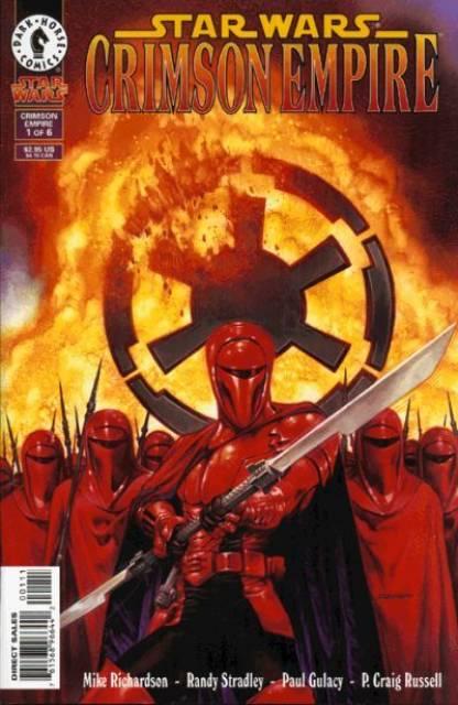 Star Wars Crimson Empire (1997) Complete Bundle - Used