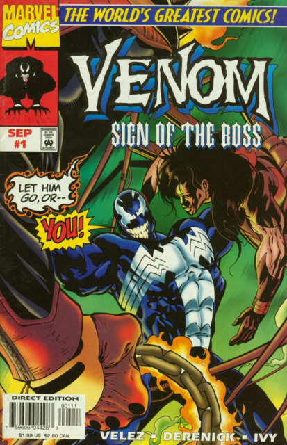 Venom: Sign of the Boss (1997) Complete Bundle - Used