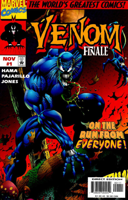 Venom The Finale (1997) Complete Bundle - Used